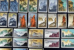 バラ切手(中国切手)