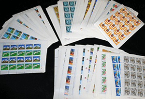 シート切手(日本切手)