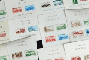 日本切手(シート切手)