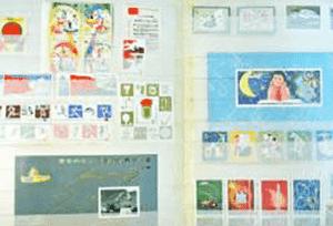 中国切手(バラ切手)