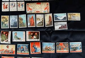 中国切手(バラ切手・シート切手)
