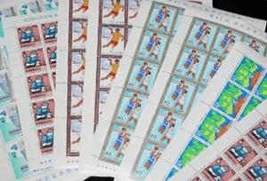 日本切手シート
