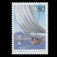 「霞ケ浦」切手