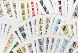 切手シート(記念切手・特殊切手)