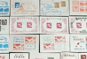 日本切手(小型シート)