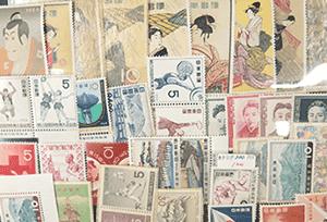日本切手(バラ切手)