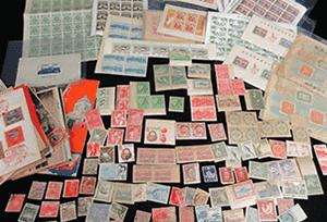 日本切手(バラ・シート等)