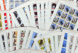 切手シート(日本切手)