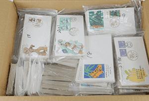 日本切手(初日カバー)