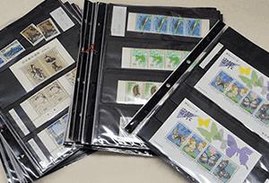 日本切手(シート切手・バラ切手)