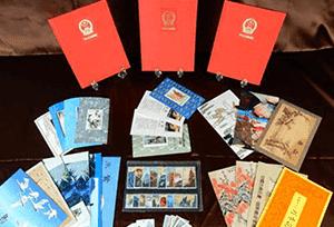 中国切手バラ・シートなど