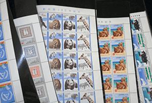 日本切手(バラ切手・シート切手)