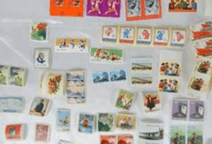 中国切手(バラ切手633枚)