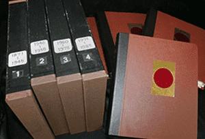 日本切手アルバム1巻~4巻