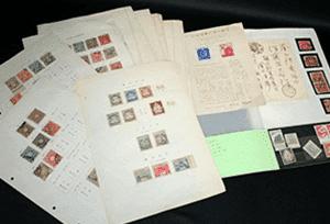 日本切手(レリーフ)