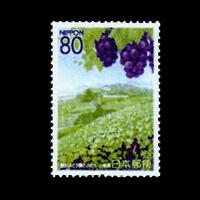山梨の風物II切手
