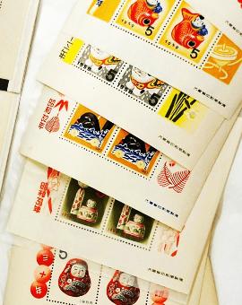 と は 切手シート お年玉